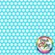 Digital Papers: RAINBOW BRIGHTS - Big Dots INVERSE- 38 Colors