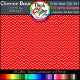Digital Papers: RAINBOW BRIGHTS - Chevron Basic -  38 Colo