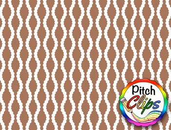 """Digital Papers: RAINBOW BRIGHTS - Dotted Wavy Line - 38 Colors, 12"""" & letter"""