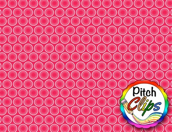 Digital Papers: RAINBOW BRIGHTS - Dotty Circles {FREEBIE} - 38 Colors!