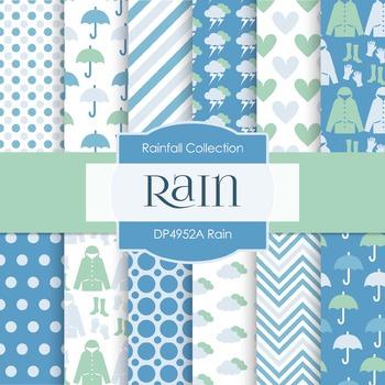 Digital Papers - Rain (DP4952A)