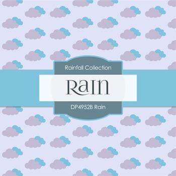 Digital Papers - Rain (DP4952B)