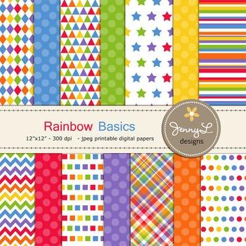 Rainbow Digital Papers