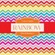 Digital Papers - Rainbow (DP4180)