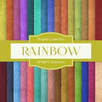 Digital Papers - Rainbow (DP4851C)