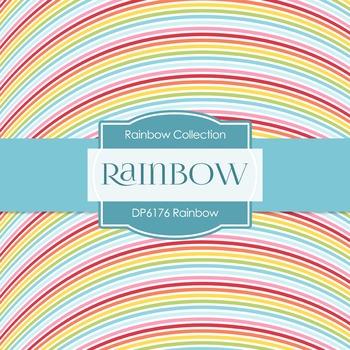 Digital Papers - Rainbow (DP6176)