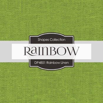 Digital Papers - Rainbow Linen (DP4851)