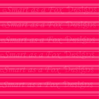 Digital Papers Rainbow Stripes