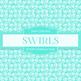 Digital Papers - Rainbow Swirls (DP4397A)