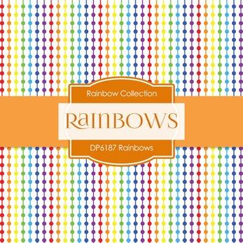 Digital Papers - Rainbows (DP6187)