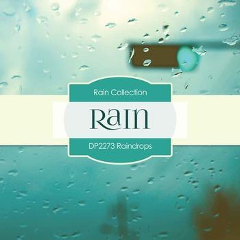 Digital Papers - Raindrops (DP2273)