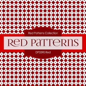 Digital Papers - Red (DP3390)