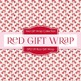 Digital Papers - Red Gift Wrap (DP2109)