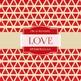 Digital Papers - Red Love (DP2068)