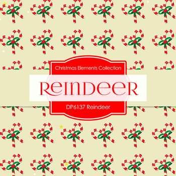 Digital Papers - Reindeer (DP6137)