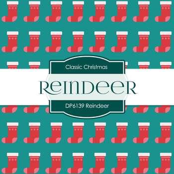 Digital Papers - Reindeer (DP6139)