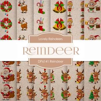 Digital Papers - Reindeer (DP6141)