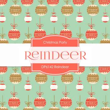 Digital Papers - Reindeer (DP6142)