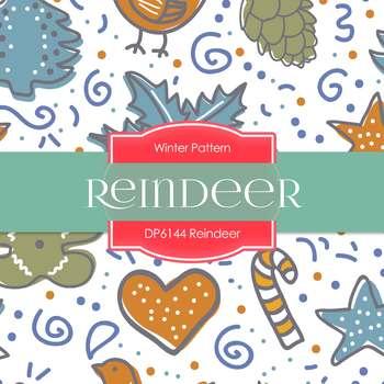 Digital Papers - Reindeer (DP6144)