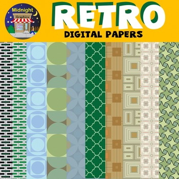 Digital Papers - Retro