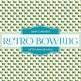 Digital Papers -  Retro Bowling (DP259)