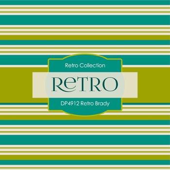 Digital Papers - Retro Brady (DP4912)