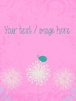 Digital Papers - Retro Flowers