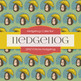 Digital Papers - Retro Hedgehog (DP6710)