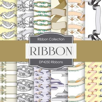 Digital Papers - Ribbons (DP4250)