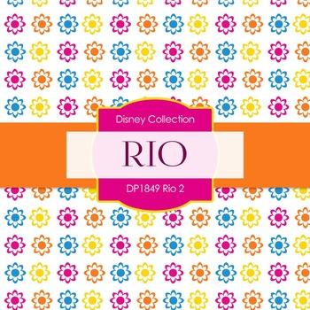 Digital Papers - Rio 2 (DP1849)