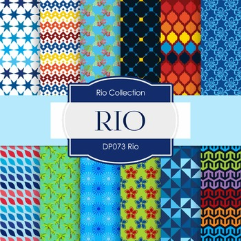 Digital Papers - Rio (DP073)