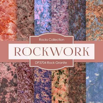 Digital Papers - Rock Granite (DP3704)