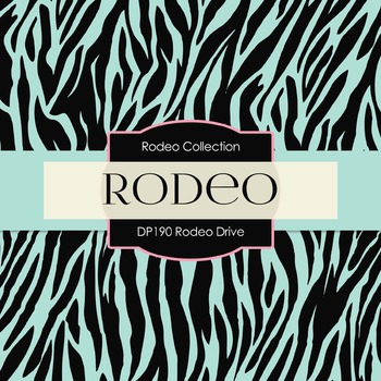 Digital Papers - Rodeo Drive (DP190)