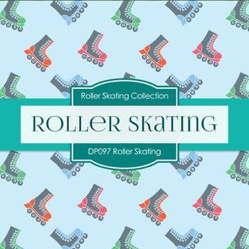 Digital Papers - Roller Skating (DP097)