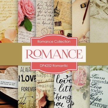 Digital Papers - Romantic (DP4252)