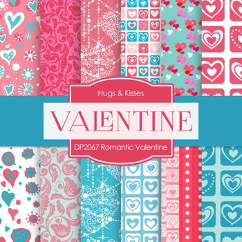 Digital Papers - Romantic Valentine (DP2067)