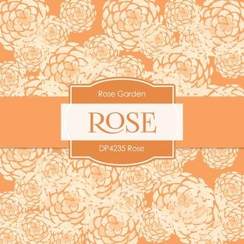 Digital Papers - Rose (DP4235)