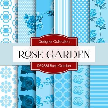 Digital Papers - Rose Garden (DP2335)