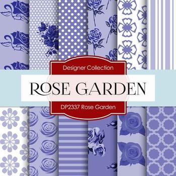 Digital Papers - Rose Garden (DP2337)