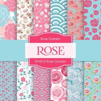 Digital Papers - Rose Garden (DP4215)