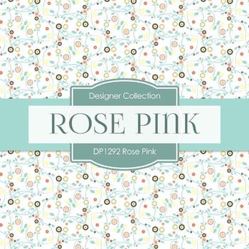 Digital Papers - Rose Pink (DP1292)