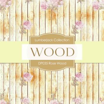 Digital Papers - Rose Wood (DP035)