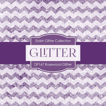 Digital Papers - Rosewood Glitter (DP167)