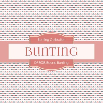 Digital Papers - Round Bunting (DP3008)