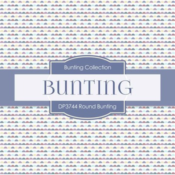 Digital Papers - Round Bunting (DP3744)