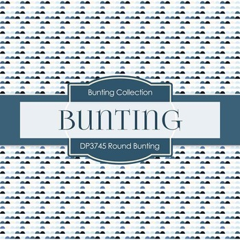 Digital Papers - Round Bunting (DP3745)