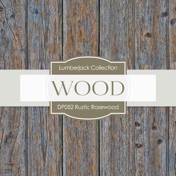 Digital Papers - Rustic Rosewood (DP052)