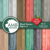 Rustic Wood Digital Papers, Shabby Chic,Wood Grain Backgrounds, AMB-587