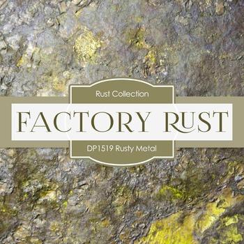 Digital Papers - Rusty Metal (DP1519)