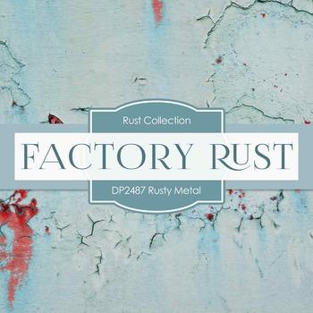 Digital Papers -  Rusty Metal (DP2487)